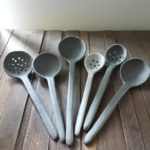 DIY Clay Spoon, Strainer and Saucer