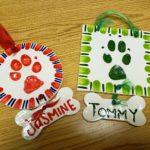 Paw Print Ornament