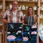 Sip and Paint – Couples Flamingo