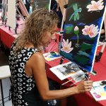 Sip and Paint – Pink Hydrangea