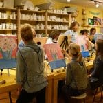 Sip and Paint Night – Wood Boat on Beach