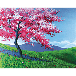 Sip and Paint Night – Full Bloom Cherry Blossom