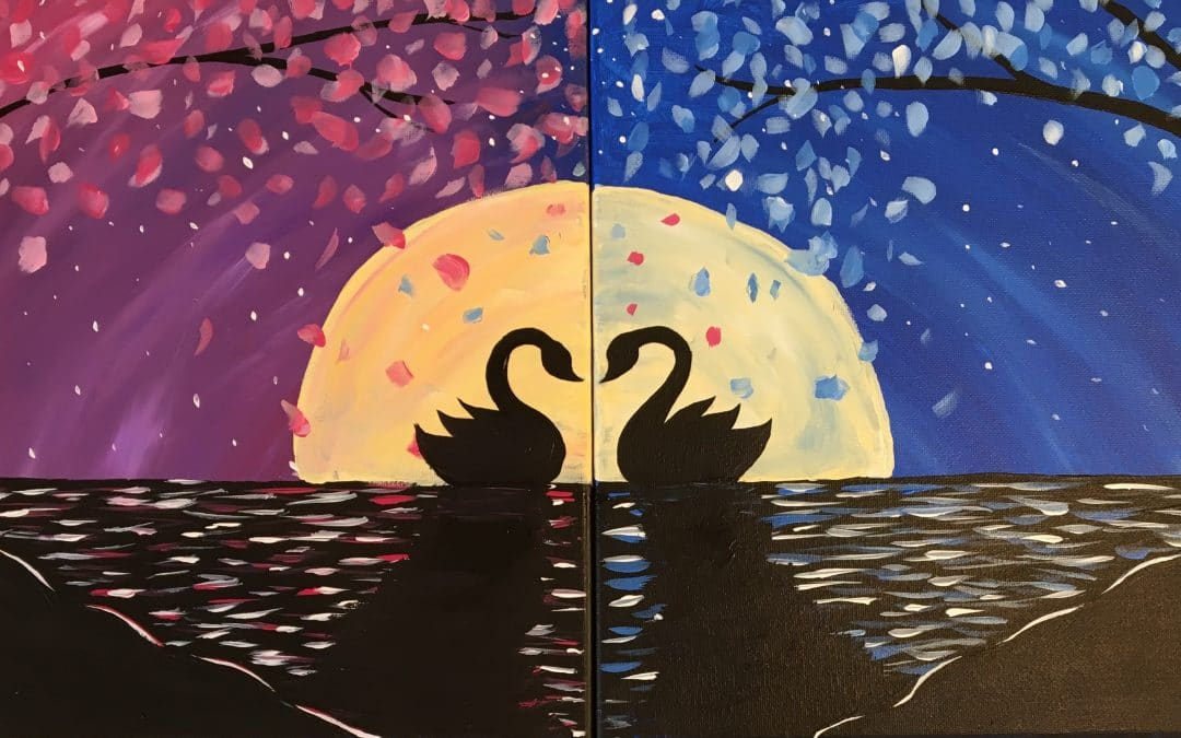 Valentine's Day Sip and Paint Event