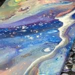 "Sip and Paint – Acrylic Pour ""Beach Scene"""