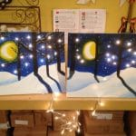 Sip and Paint Evening – Winter Wonderlands