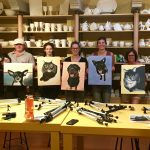 Sip and Paint Night – Bee Happy