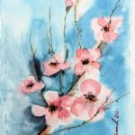 Virtual Watercolour Workshop – Cherry Blossom