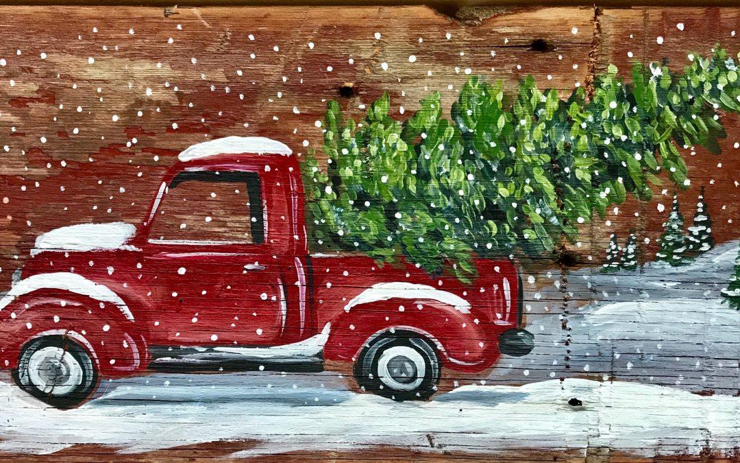 Board Art – Vintage Truck
