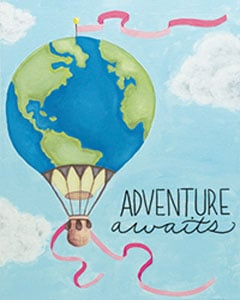 Sip and Paint – Hot Air Adventure