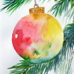 Vitural Watercolour Christmas Cards