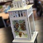 Glass Fusing – Hurricane Candle