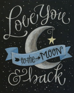 Sip and Paint Night – Love you to the Moon