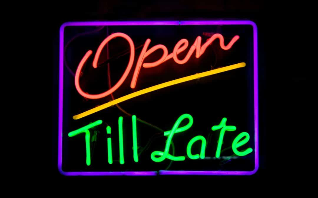Now open late on Thursday evening too!