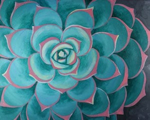 Sip and Paint – Succulent